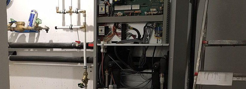 Aufbau der Wärmepumpe