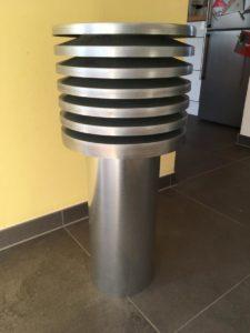 Abluftturm (verzinkter Stahl)