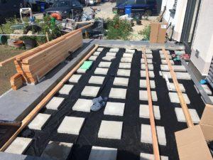 Terrassen-Unterbau