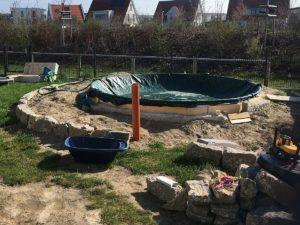 Pool-Status im Frühjahr