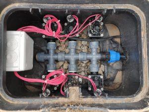 Ventilbox mit 6 Abgängen